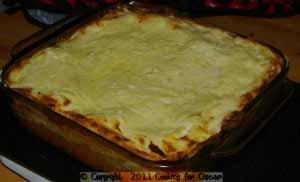 Chicken and Sweet Potato Lasagna