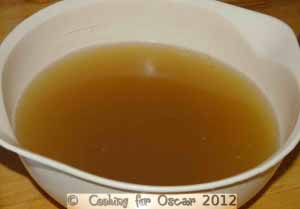 Chicken Stock (from Cooked Chicken Carcass)
