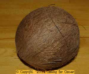 Cracking coconuts