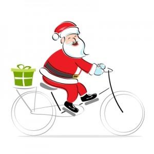 Santa Claus With Gift by digitalart
