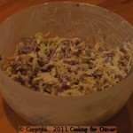 Apple and Sour Cream Coleslaw