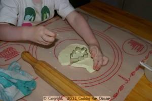 Making Christmas Cake Decorations