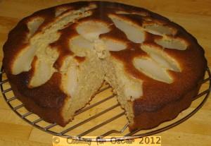 Pear Dessert Cake