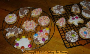 Christmas Biscuits Decorated