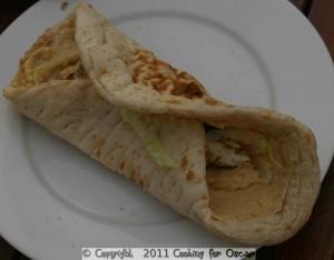 Chicken Souvlaki Wraps