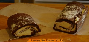 Chocolate Squidgy Log