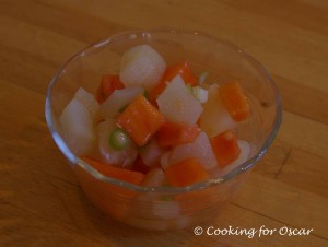Fruit Salsa for BBQ Salmon