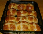 Pear Hot Cross Buns