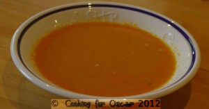Creamy Carrot and Red Lentil Soup