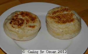 Cooked crumpets