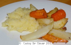 Pear and Parsnip Mash