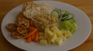 Cucumber and Chickpea Dip