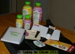 Goodie Bag from Golden Circlae Healthy Life Juices Launch