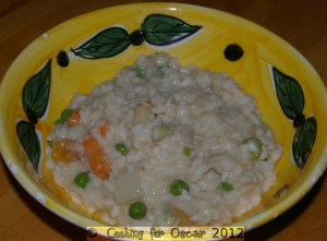 Roast Chicken and Vegetable Risotto