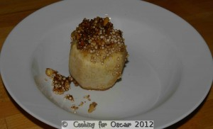 Baked Apple with Quinoa