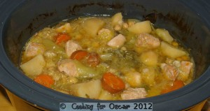 Chickpea and Chicken Casserole (Slow Cooker)