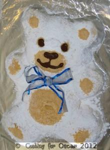 Marshmallow Teddy Bear Cake