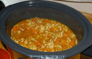 Pumpkin, Sweet Potato and White Bean Stew (Slow Cooker)