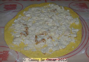 Creamy Chicken Calzone