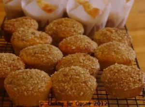 Pear and Quinoa Muffins