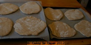 Making Pita Bread