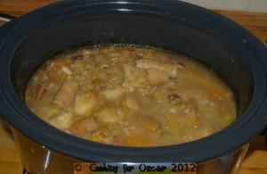 Potato, Swede and Sausage Stew
