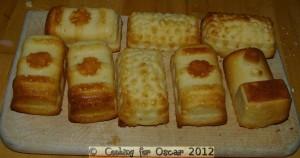 Making Train Cakes