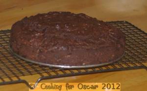 Chocolate / Carob Zucchini Cake