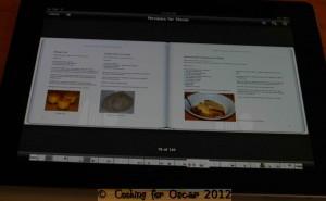 Cooking for Oscar Recipe Book: Recipes for Oscar iBook