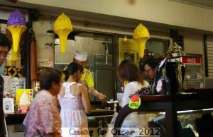 Kawagoe Japan - Sweet Potato Ice Cream
