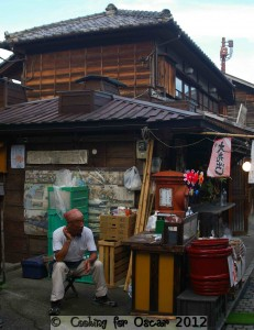 Kawagoe Japan - Cooked Sweet Potato Seller