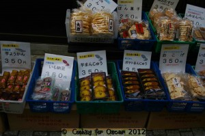 Kawagoe Japan - Sweet Potato Delicacies