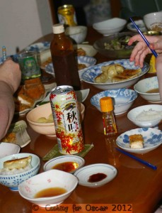 Japan - a home style feast