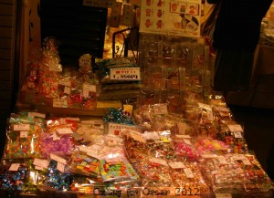 Japanese Market in Kyoto - Lollies