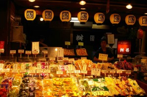 Japanese Market in Kyoto