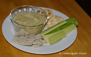 Split Pea and Spring Onion Dip