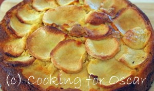 Layered Apple/Pear Buttermilk Cake
