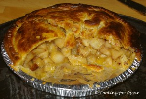 Apple and Banana Pie