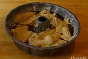 Making Carob Syrup Cake