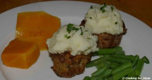 Loaded Mini Meat Loaves