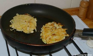 Cooking Okonomiyaki