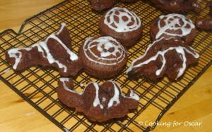 Simple Halloween Cakes