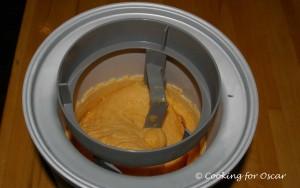 Making Sweet Potato Ice Cream