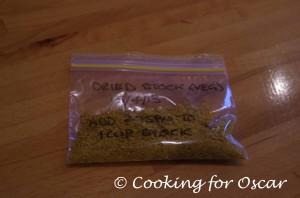 Vegetable Stock Powder