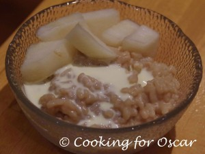 Creamed Rice / Rice Pudding