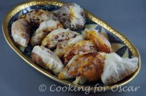 Baked Dumplings (Gyoza – style), Gluten-Free