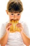 Girl Eating Sandwich