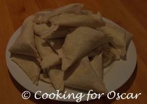 Mountain Bread Triangles