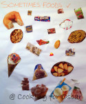 Sometimes Foods Poster