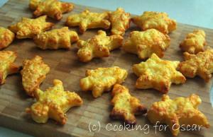 Christmas Cheese Puffs